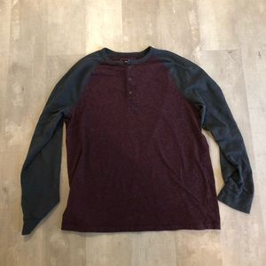 Sonoma 3 button Henley